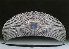 Sunburst Kokoshnik Tiara, made by Cartier in 1927