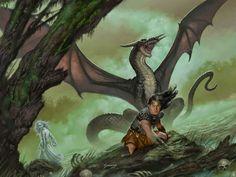 Dragonlance, Age of Mortals Series, Lake of Death by Matt Stawicki.