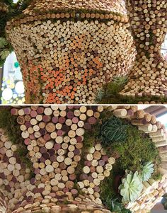 Corks as Art for Your Wedding