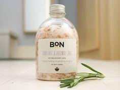 Grapefruit & Rosemary natural bath soak by bonsoaps on Etsy, £6.00