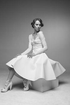 White, Andrea Pojezdalova Look Book