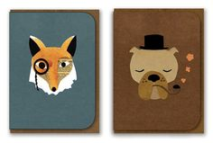 Cute Australian designs! (recycled paper no less)