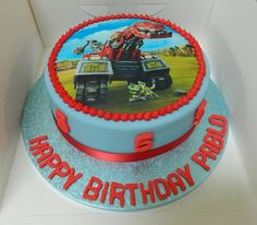 Image result for dinotrux cake
