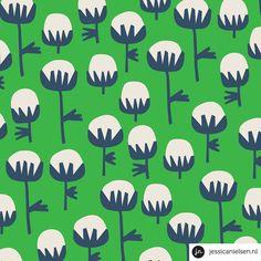 jessica nielsen -- avens hogweed pattern
