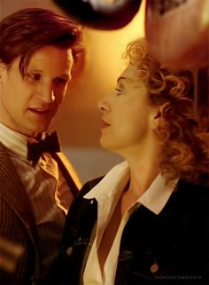 The Doctor (Eleven) and River Song