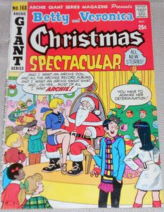 Betty And Veronica Christmas Spectacular Comic Free Shipping