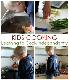 Kids Cooking: Learning to Cook Independently