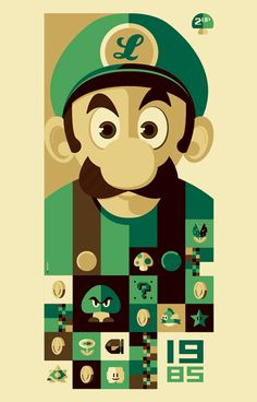 Luigi :D The Mario Brother's whom teleport through drains . . .