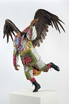"'Food Faerie"" by Yinka Shonibare (2011), photo courtesy the Artist & Blain Southern"