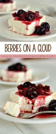 Berries on a Cloud {Best Dessert of the Summer!}