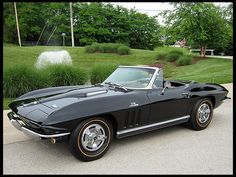 1966 CHEVROLET CORVETTE CONVERTIBLE  427/425 HP, 4-SPEED - TUXEDO BLACK