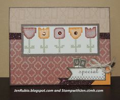Scrapbook and Stamp with Jen Rubio - StampwithJen.ctmh.com: January Stamp of the Month Blog Hop!