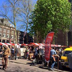 Maak kennis met de Streekmarkt: een gezellige markt die elke maand plaatsvindt in Utrecht en waar je shopt voor veelal lokale (food-)producten.