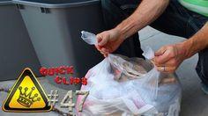 QC#47 - Trash Sack Lifehack: Forever change the way you tie trash bags.