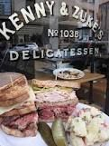 Kenny & Zukes Deli in Portland.  The BEST Pastrami Rubuen Sandwich!