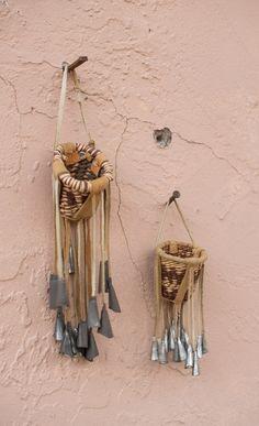 Apache miniature burden baskets (2). DesertHabitat on Etsy.