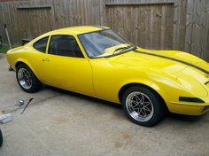 Mine had 'Opel GT' on the bottom in black lettering... Loved that car.