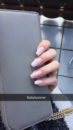Ballerina Nails Ballerina nails diy makeup five minute crafts - Makeup Diy Crafts Cute Acrylic Nails, Acrylic Nail Designs, Cute Nails, Pretty Nails, Hair And Nails, My Nails, Pink Nails, Nails Polish, Dipped Nails