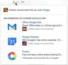#Google+ turns its +1 button into a discovery tool #socialmedia