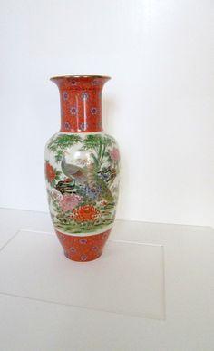 Vintage Toyo Japan Porcelian Peacocks and by LyricalVintage