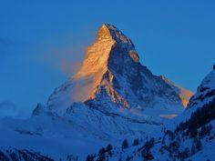 Matterhorn im Wallis / Schweiz