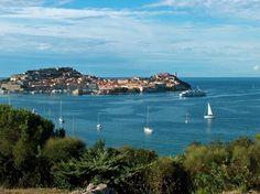 Portoferraio, Isola D'Elba, Italia