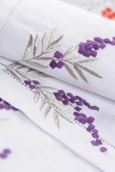 """Placemat """"Arbouse"""" Purple and silver"""