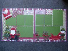 Cricut - Santa's little helper.  Paper Doll Dress Up cart used.