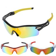 f9edb65ed0 RockBros Polarized Bike Cycling Bicycle Sunglasses Glasses Goggles Eyewear  5 Lens 4 ColorsFeatures Iincredibly lightweight contributes to the comfort  of ...