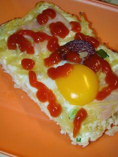 "Cristina's world: ""Pizza"" cu blat de conopida"