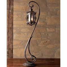 JohnRichard Collection Gothic Floor Lantern - I would love this for my bedroom! #GElighting