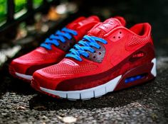 Nike Air Max 90 Breathe Chilling Red-Team Red-White (2)