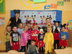 Day of Mickey Mouse. Mickey Mouse, Kindergarten, Party Ideas, Events, Day, Dresses, Fashion, Vestidos, Moda