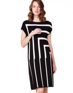 Платье-футляр с инкрустациями