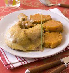 Poulet à la patate douce, en cocotte minute