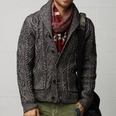 Cable-Knit Cardigan by Ralph Lauren