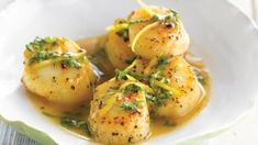 Coquilles St. Jacques In Kokosmelk recept | Smulweb.nl