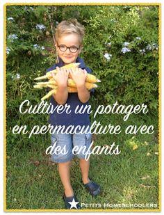 Un potager en permaculture pour les enfants