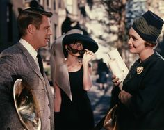 George Peppard, Audrey Hepburn and Patricia Neal in Breakfaast at Tiffany's