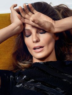 Daria Werbowy by Collier Schorr for Vogue Paris May 2015
