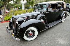 Packard 1707 Twelve Formal Sedan 1939