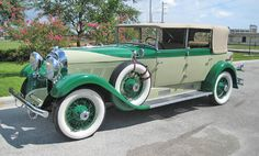 1929 Auburn 8 120 Phaeton Convertible Sedan  Maintenance/restoration of old/vintage vehicles: the material for new cogs/casters/gears/pads could be cast polyamide which I (Cast polyamide) can produce. My contact: tatjana.alic@windowslive.com