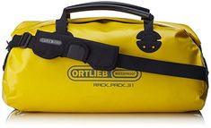 Ortlieb Unisex Bicycle Rack-Pack 34 x 61 x 32 cm Bicycle Rack, Bike, Hand Luggage Suitcase, Childrens Luggage, Luggage Deals, Sports Brands, Travel Tote, Camping Gear, Yellow