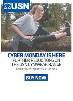 Further Reductions On The Usn Gym Wear Range Until Midnight