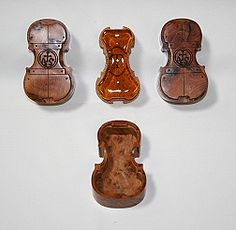 Check out the violin shaped rosin