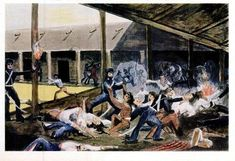 Chamberlain_massacre of 17 guerillas Blood Meridian, Delaware Indians, Mexican American War, My Confession, Orphan Girl, Cherokee Nation, King James Bible, Italian Painters, Irish Men