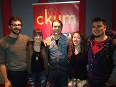Merci à la belle gang de CKUM Moncton pour la belle entrevue avec Maxime McGraw et Joannie Benoit !