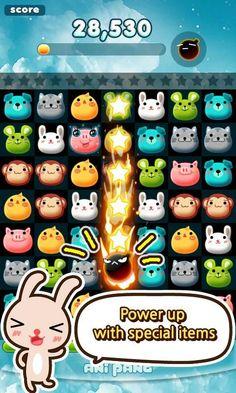 [GAME-APP] 애니팡 (Anipang) for Kakao : 선데이토즈 (SundayToz) 회사 (480×800)
