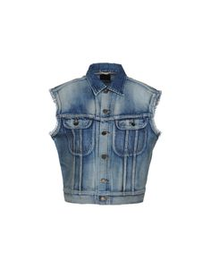 Saint Laurent Denim Jacket - Women Saint Laurent Denim Jackets online on YOOX Australia - 42655960FQ