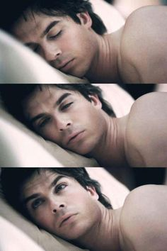 Damon Salvatore - TVD - The Vampire Diaries - Beautiful way to wake up